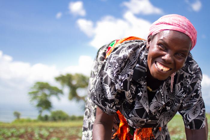 Uganda farmer woman